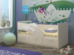 Детская кровать Дельфин-5 фото | интернет-магазин Складно