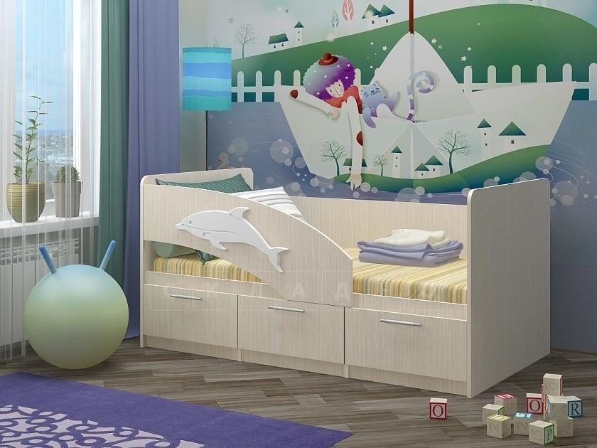 Детская кровать Дельфин-5 фото 1 | интернет-магазин Складно