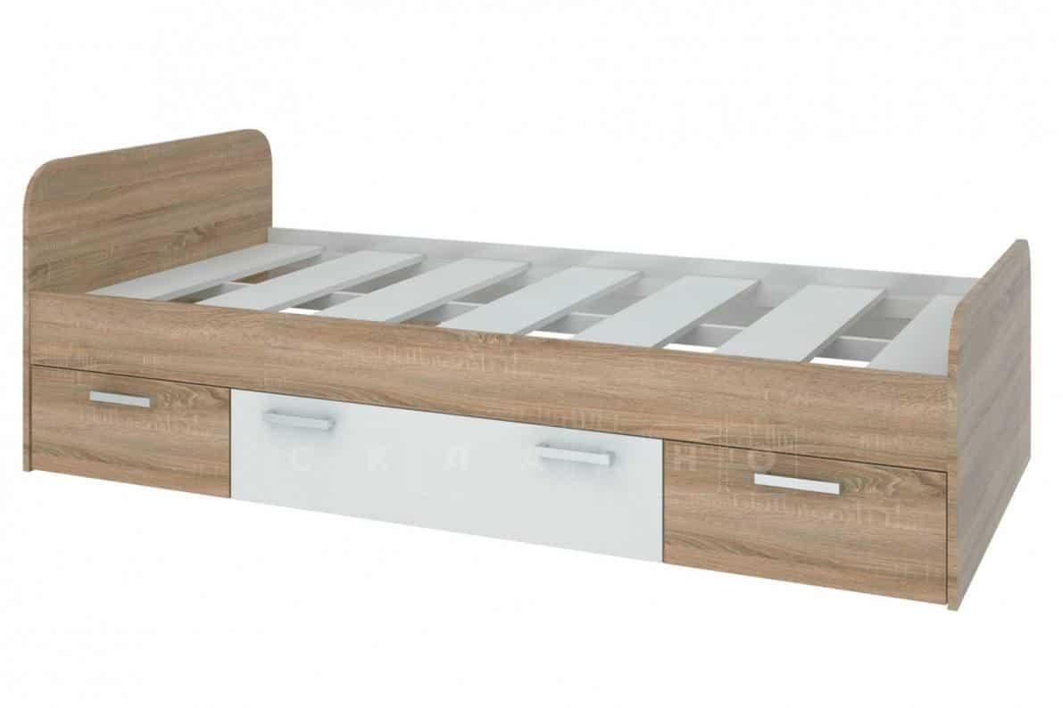 Кровать Мика с ящиками фото 1 | интернет-магазин Складно