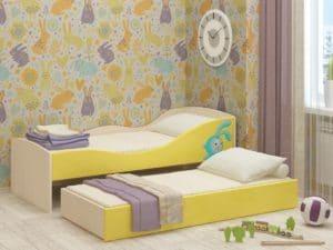 Детская выдвижная кровать Юниор-10 8350 рублей, фото 1 | интернет-магазин Складно