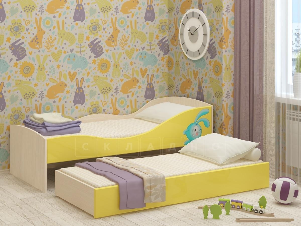 Детская выдвижная кровать Юниор-10 фото 1 | интернет-магазин Складно