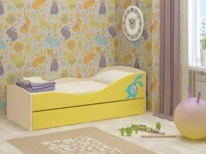 Детская выдвижная кровать Юниор-10 8350 рублей, фото 2 | интернет-магазин Складно