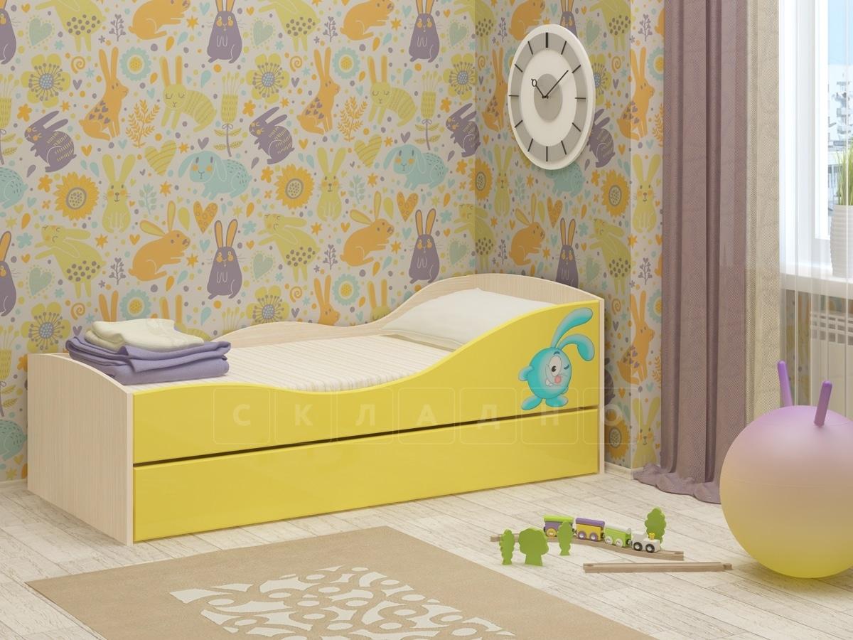 Детская выдвижная кровать Юниор-10 фото 2 | интернет-магазин Складно