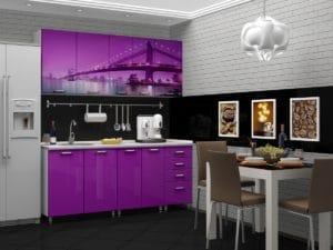 Кухня с фотопечатью Бридж 1,8 м 22590 рублей, фото 2 | интернет-магазин Складно
