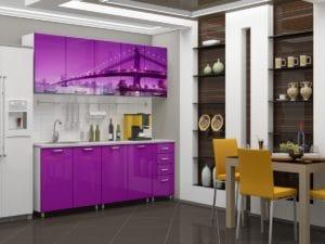 Кухня с фотопечатью Бридж 2,0м 15690 рублей, фото 2 | интернет-магазин Складно
