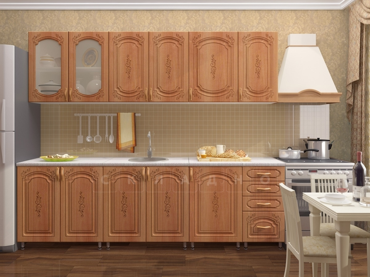 Кухонный гарнитур Боско 2,5м фото 2 | интернет-магазин Складно