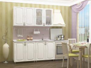 Кухонный гарнитур Белла 1,6м фото | интернет-магазин Складно