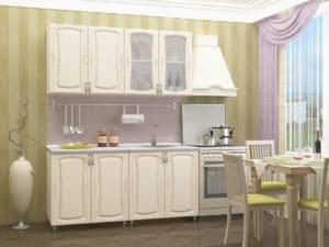 Кухонный гарнитур Белла 1,6м фото 2 | интернет-магазин Складно