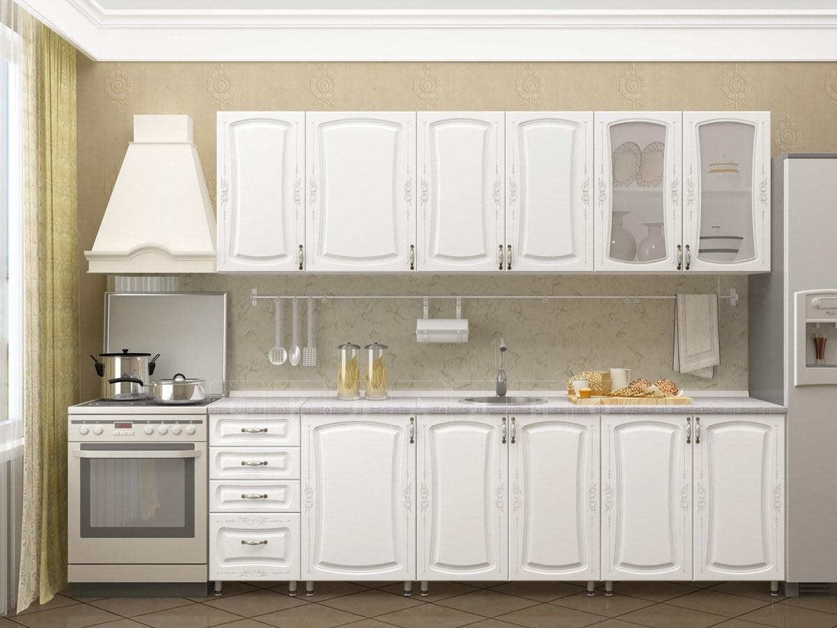 Кухонный гарнитур Белла 2,5 м фото 1 | интернет-магазин Складно