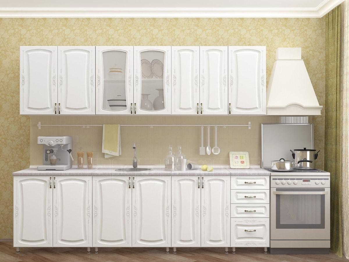Кухонный гарнитур Белла 2,6 м фото 1 | интернет-магазин Складно