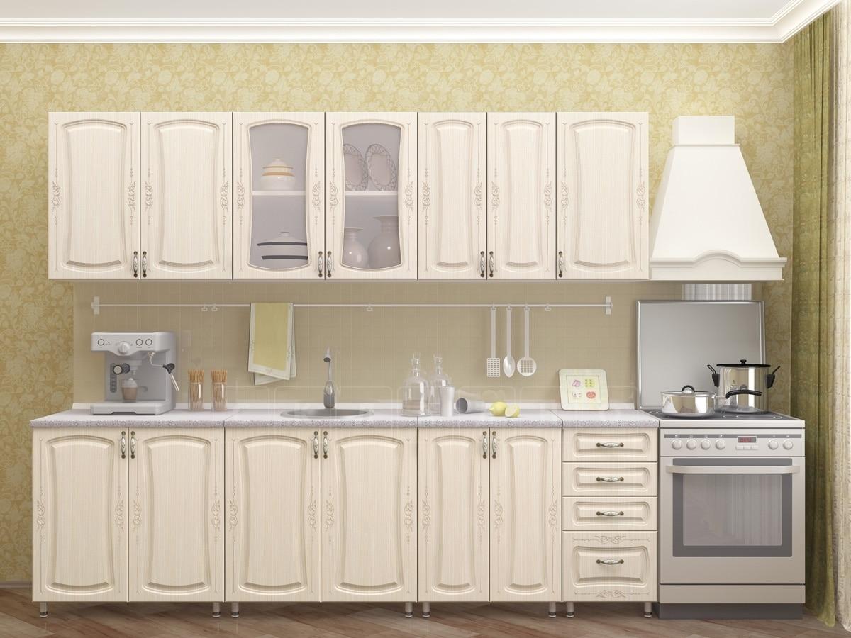 Кухонный гарнитур Белла 2,6 м фото 2 | интернет-магазин Складно