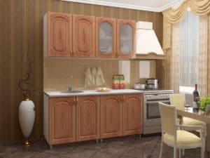 Кухонный гарнитур Боско 1,6м фото 2 | интернет-магазин Складно