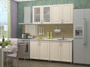 Кухонный гарнитур Венеция 1,6м 9370 рублей, фото 1 | интернет-магазин Складно