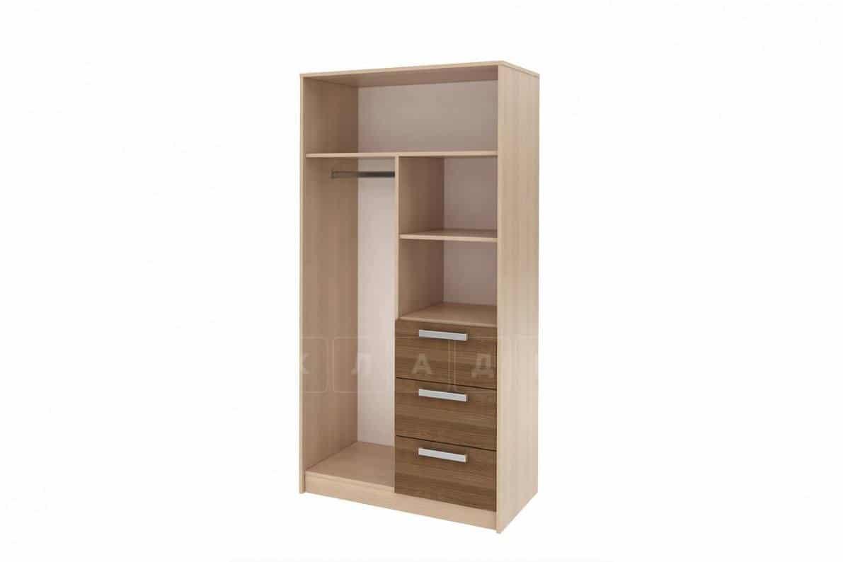 Шкаф Мика 2-х дверный с ящиками фото 2 | интернет-магазин Складно