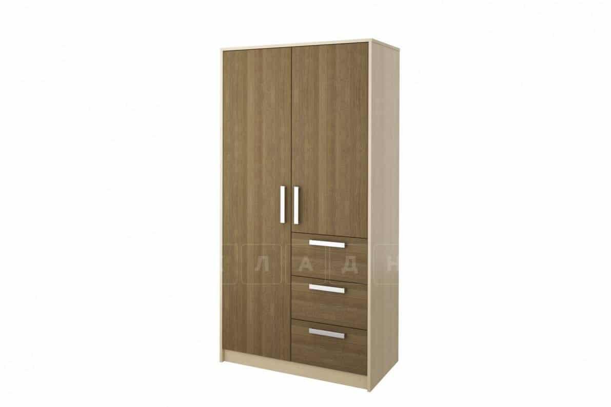 Шкаф Мика 2-х дверный с ящиками фото 1 | интернет-магазин Складно