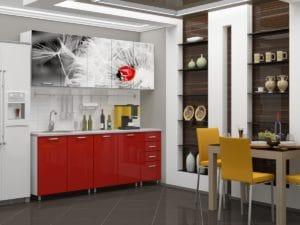 Кухня с фотопечатью Одуванчик 2,0м 24470 рублей, фото 2 | интернет-магазин Складно