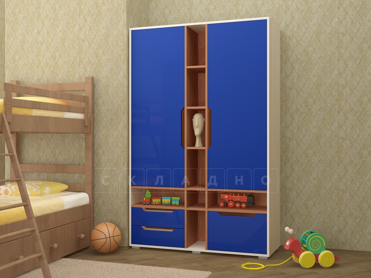 Шкаф в детскую Робинзон фото 5 | интернет-магазин Складно