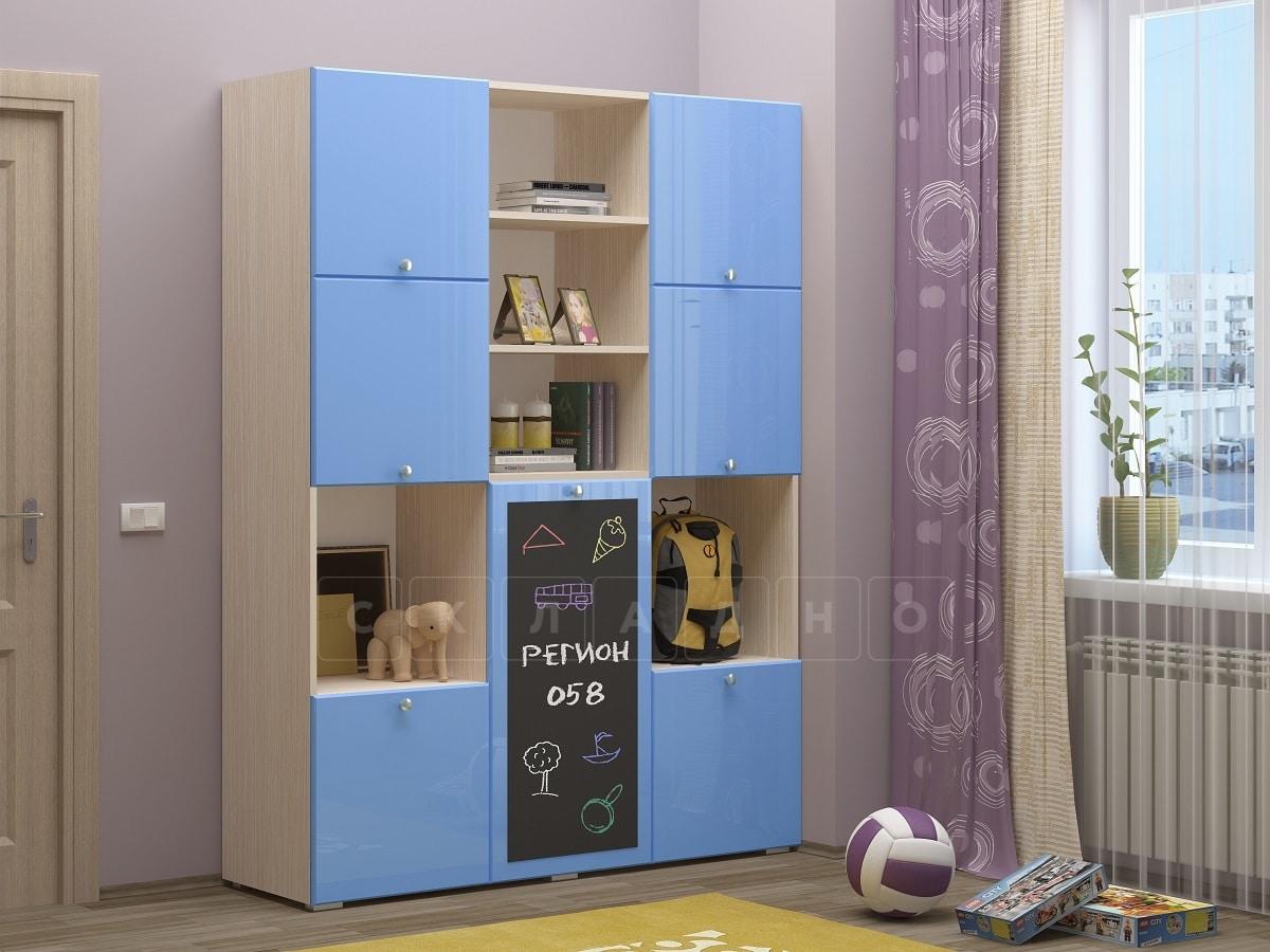 Шкаф в детскую Юниор-11 с доской для рисования фото 3 | интернет-магазин Складно