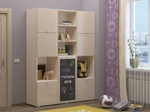 Шкаф в детскую Юниор-11 с доской для рисования 10890 рублей, фото 11 | интернет-магазин Складно