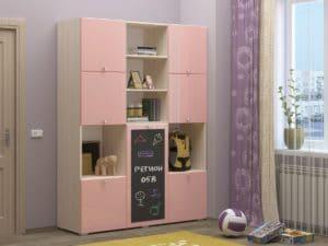Шкаф в детскую Юниор-11 с доской для рисования 10890 рублей, фото 5 | интернет-магазин Складно