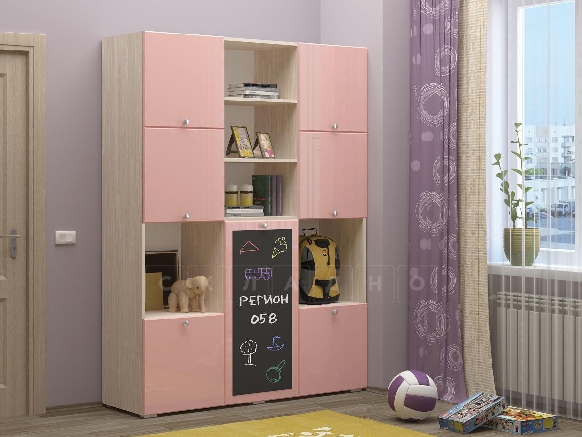 Шкаф в детскую Юниор-11 с доской для рисования фото 5 | интернет-магазин Складно