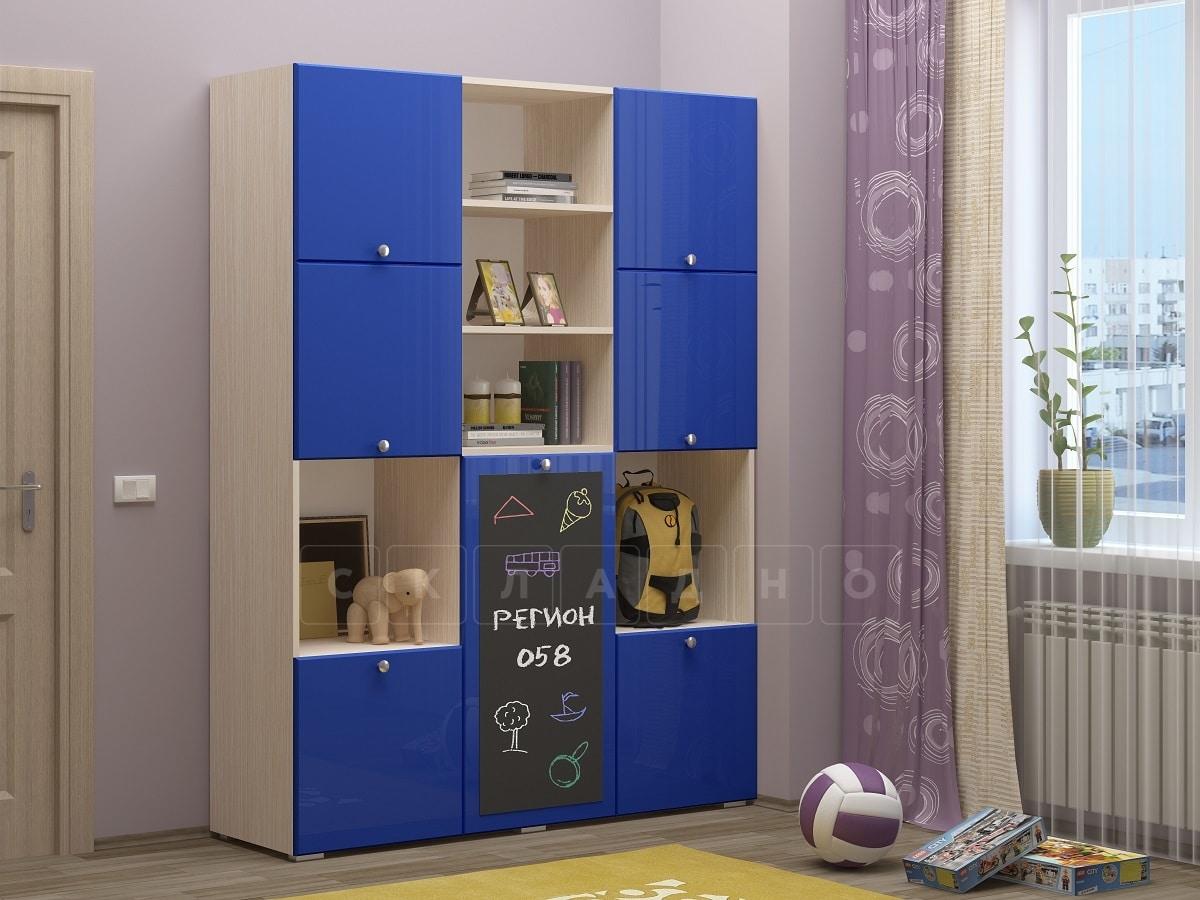 Шкаф в детскую Юниор-11 с доской для рисования фото 7 | интернет-магазин Складно