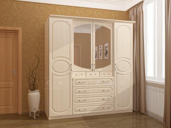 Шкаф распашной Карина-7 четырехстворчатый фото 1   интернет-магазин Складно
