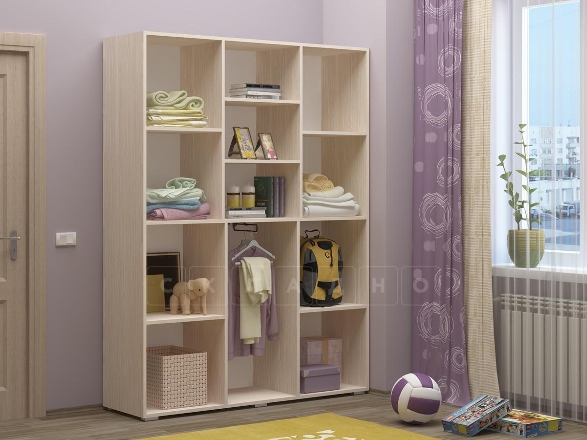 Шкаф в детскую Юниор-11 с доской для рисования фото 2 | интернет-магазин Складно