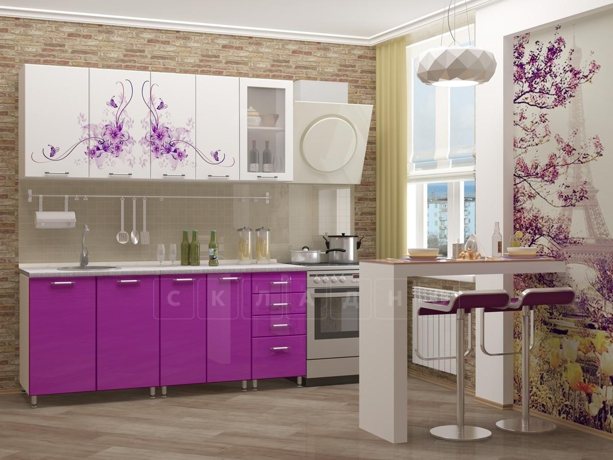 Кухня с фотопечатью Вдохновение 1,8 м фото 1 | интернет-магазин Складно