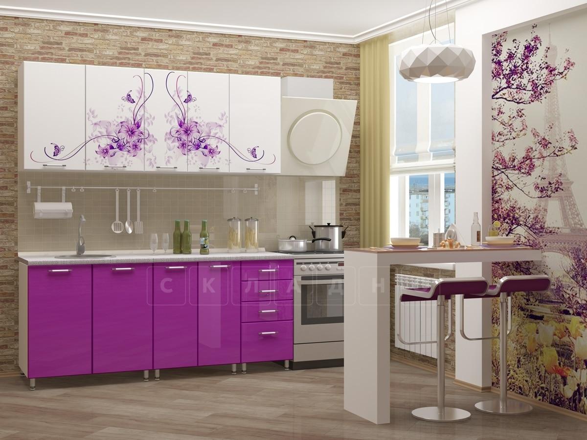Кухня с фотопечатью Вдохновение 1,8 м фото 2 | интернет-магазин Складно