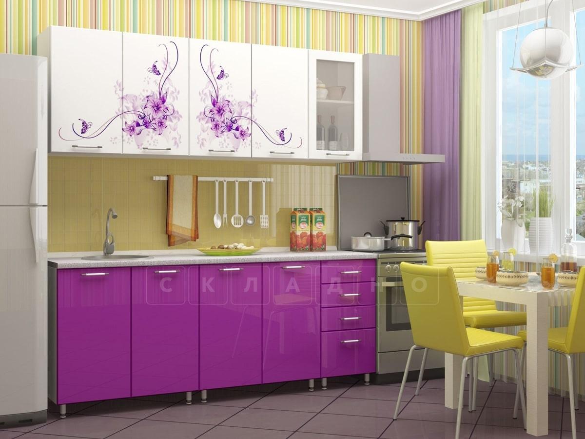 Кухня с фотопечатью Вдохновение 2,0м фото 1 | интернет-магазин Складно
