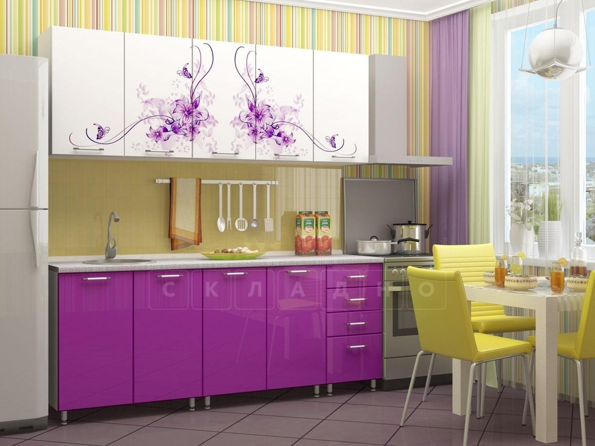 Кухня с фотопечатью Вдохновение 2,0м фото 2 | интернет-магазин Складно