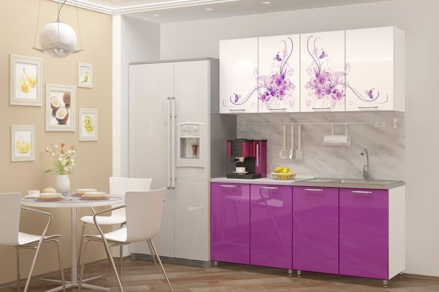 Кухня с фотопечатью Вдохновение 160см фото | интернет-магазин Складно