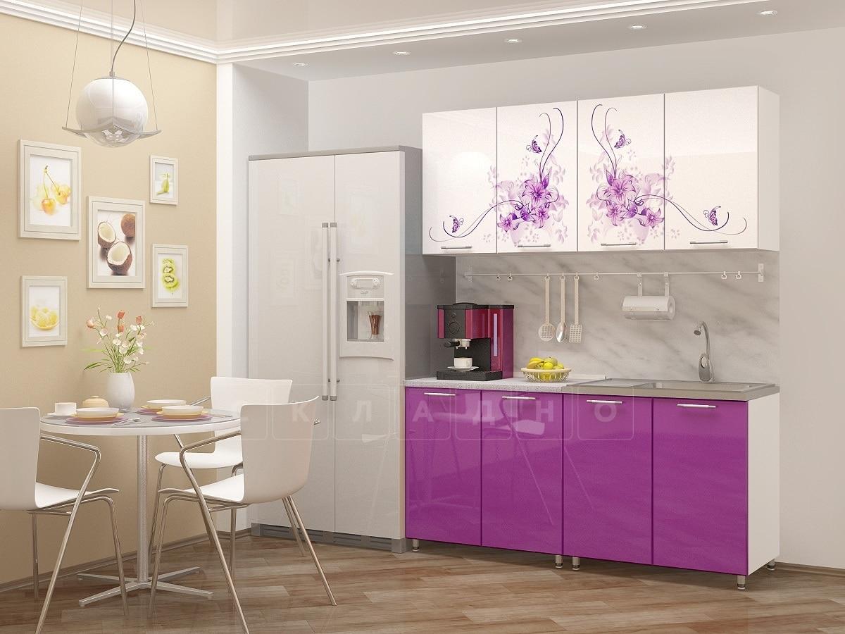 Кухня с фотопечатью Вдохновение 160 см фото 1 | интернет-магазин Складно