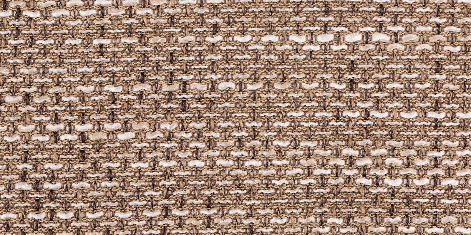 Диван прямой Амстердам кожаный с рогожкой коричневый фото 8 | интернет-магазин Складно