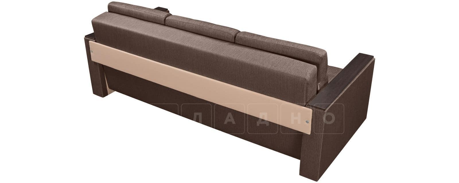 Диван Атланта рогожка коричневого цвета фото 3 | интернет-магазин Складно