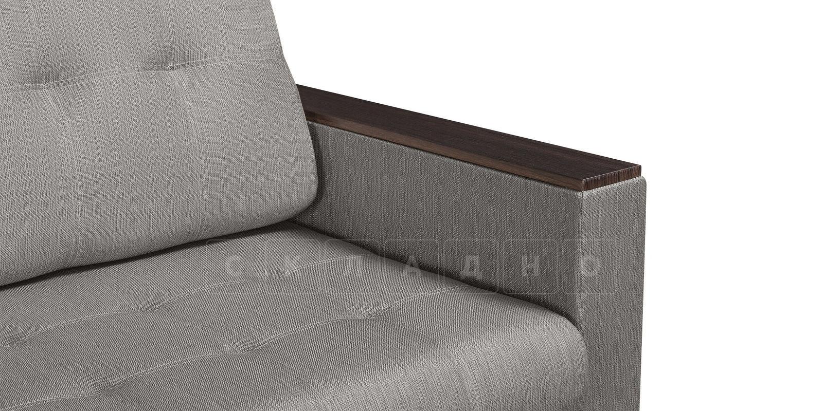 Диван Атланта рогожка серого цвета фото 4 | интернет-магазин Складно
