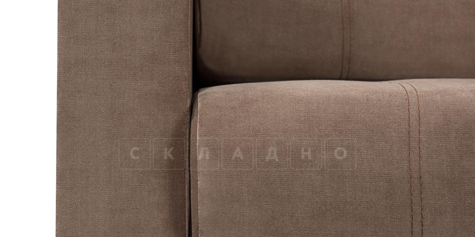 Диван Атланта вельвет светло-коричневый фото 6 | интернет-магазин Складно