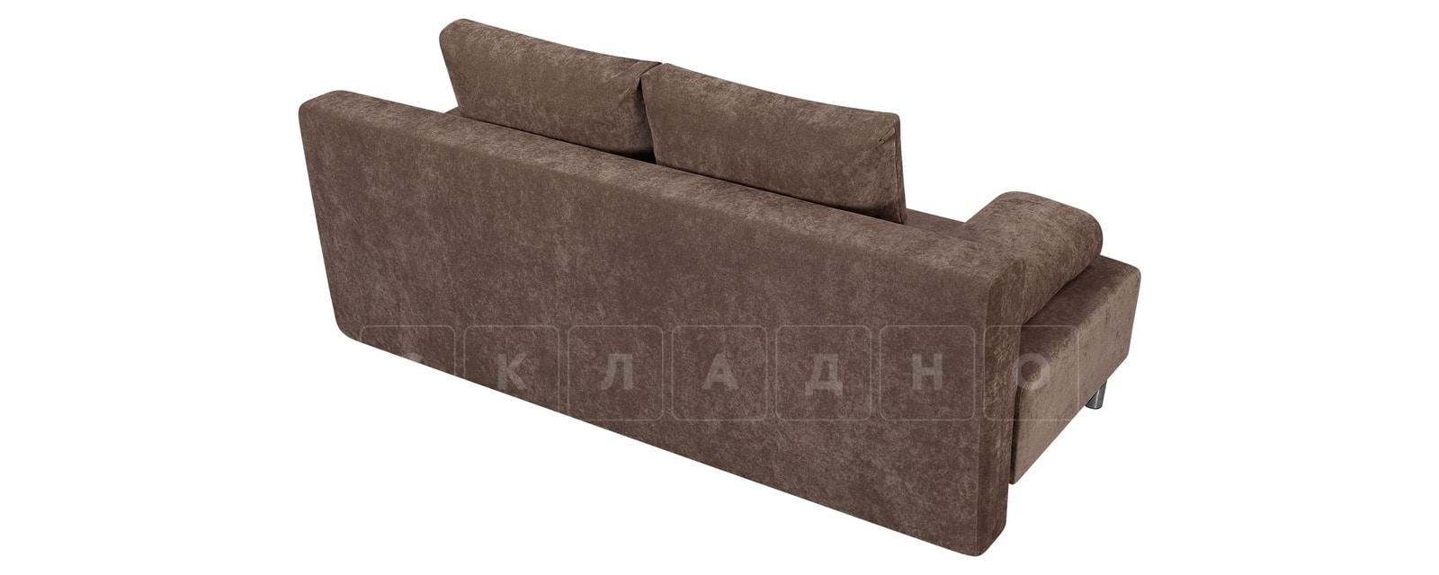 Диван Парма коричневый вельвет фото 3   интернет-магазин Складно