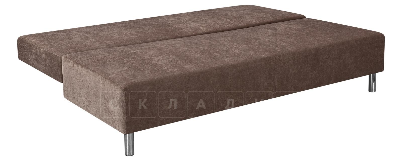 Диван Парма коричневый вельвет фото 4   интернет-магазин Складно