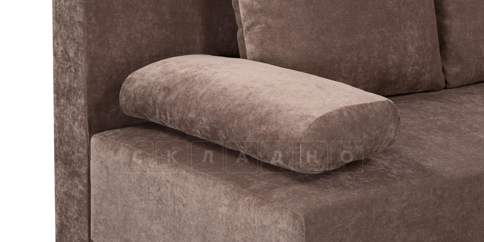 Диван Парма коричневый вельвет фото 5   интернет-магазин Складно