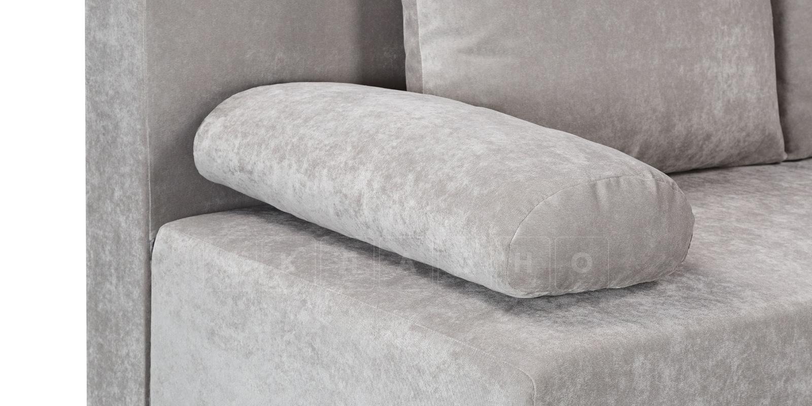 Диван Парма серый вельвет фото 5 | интернет-магазин Складно
