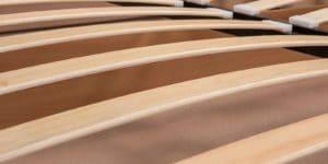 Мягкая кровать Афина 140см экокожа молочного цвета 18270 рублей, фото 7 | интернет-магазин Складно