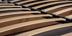 Мягкая кровать Афина 160см рогожка коричневого цвета 19970 рублей, фото 7 | интернет-магазин Складно