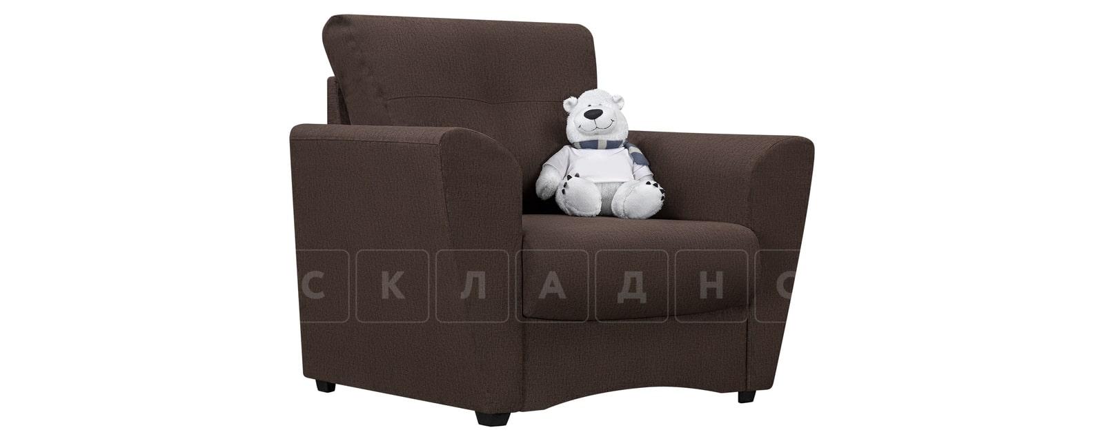 Кресло Амстердам коричневого цвета фото 1 | интернет-магазин Складно