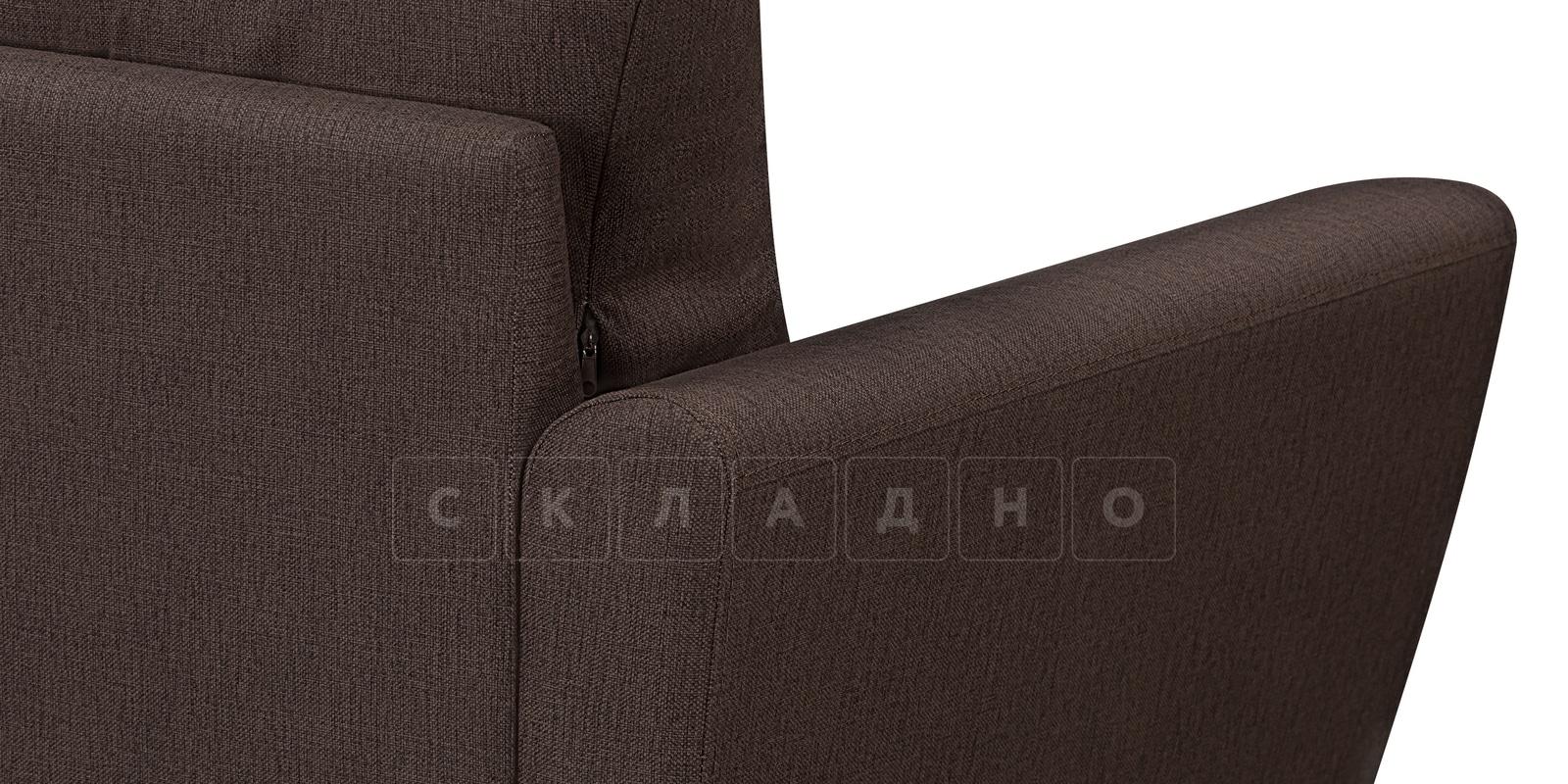 Кресло Амстердам коричневого цвета фото 4 | интернет-магазин Складно