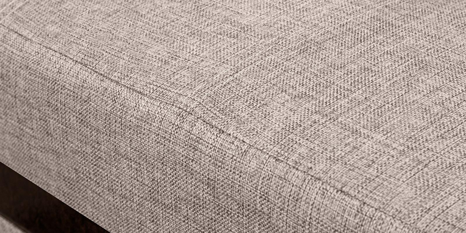 Угловой диван Атланта рогожка темно-бежевого цвета фото 7 | интернет-магазин Складно