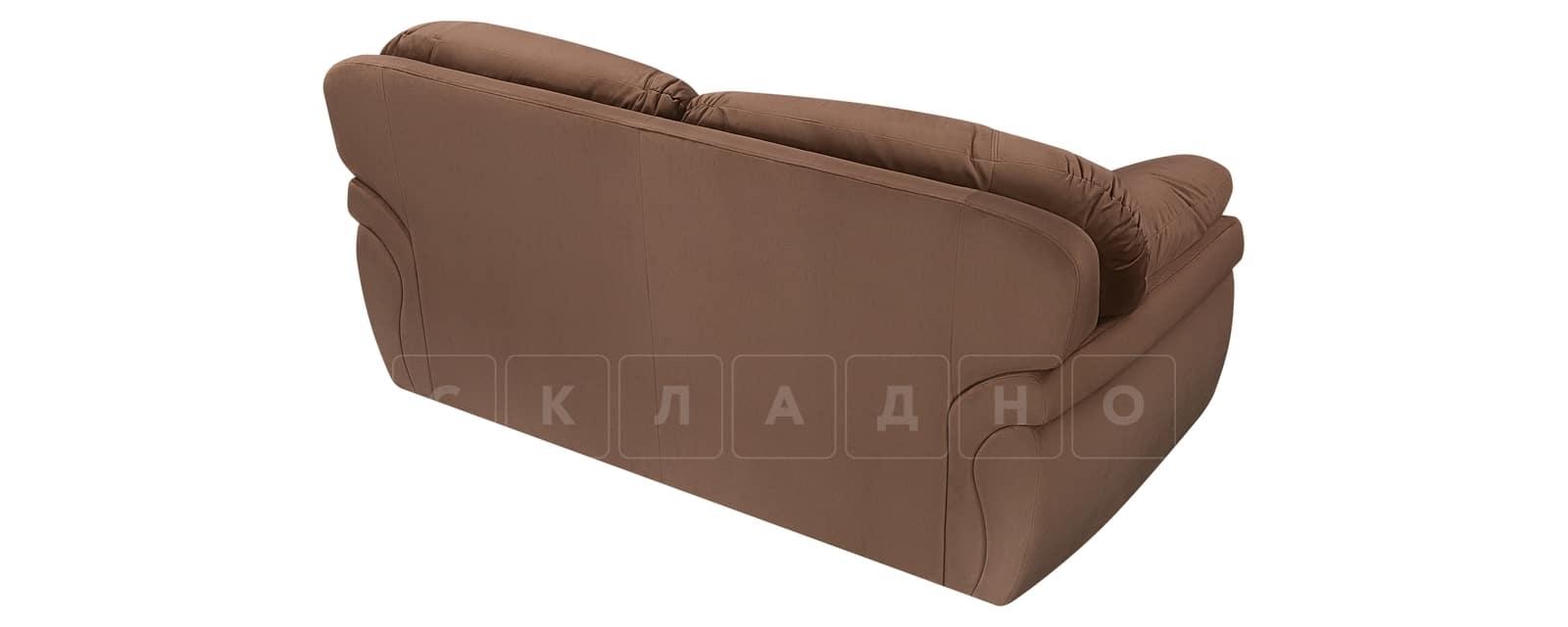 Диван Бристоль велюр коричневый фото 3 | интернет-магазин Складно