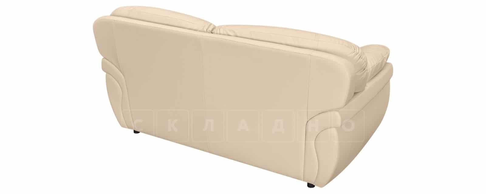 Диван Бристоль кожаный бежевого цвета фото 3 | интернет-магазин Складно
