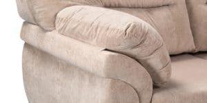 Диван угловой Бристоль флок бежевый правый угол 53740 рублей, фото 5 | интернет-магазин Складно
